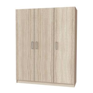 SCANDIA Lemari PS Wardrobe 3 Doors 145x50x176 Cm - Oak