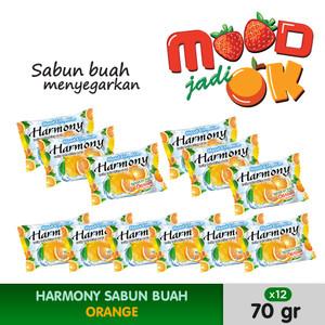 HARMONY Sabun Buah Orange 70g (12pcs)