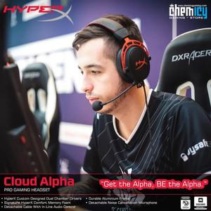 HyperX Cloud Alpha Pro Gaming Headset - GARANSI RESMI 2 TAHUN