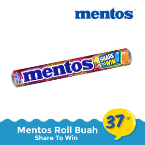 Mentos Roll Buah 37 gr