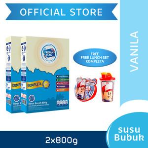 Frisian Flag Susu Bubuk Keluarga Vanila 800g [2 pcs] Free Gift