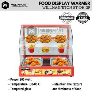 Warming Showcase/ Display Penghangat Makanan dengan Lampu