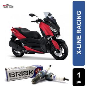 Busi Motor Racing Xmax 250cc Busi Brisk X-line COR10-X9 100% Ori