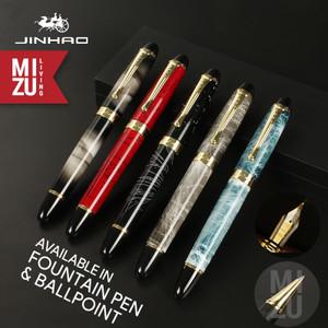JINHAO X450 Roller Ballpoint / Fountain Pen 18K Gold-Plated Nib