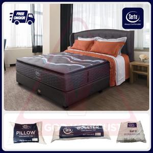 Serta Alpine 100 120 160 180 200 Full Bed Set Fullset Matras Saja Only