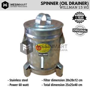 Spinner/ Mesin Peniris (Pengering) Minyak 1.5 KG