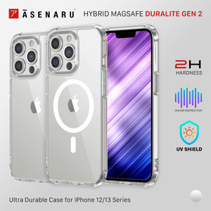 Asenaru Case DuraLite Gen.2 Hybrid Magsafe iPhone 12/13/Pro/Mini/Max
