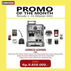 Professional Coffee Maker Leoricco ACM5800 with Built In Grinder