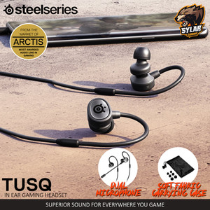 SteelSeries TusQ in Ear Mobile Gaming Headset