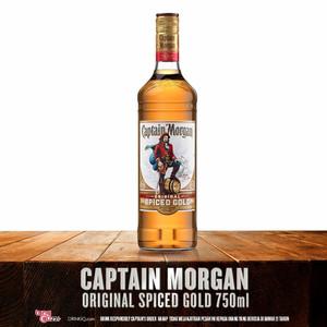 Captain Morgan Spiced Rum - 750 ml