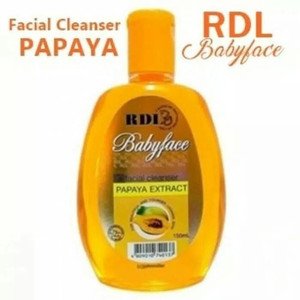 RDL FACIAL CLEANSER PAPAYA EXTRACT 150ML - FACIAL CLEANSER RDL PAPAYA