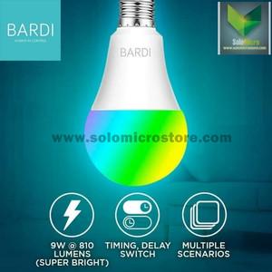 Bohlam Lampu Rumah IoT Smart Home LED Light Bulb Wifi RGB+WW 9W BARDI