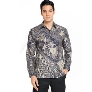 Rianty Batik Gesra Kemeja Batik Pria Lengan Panjang