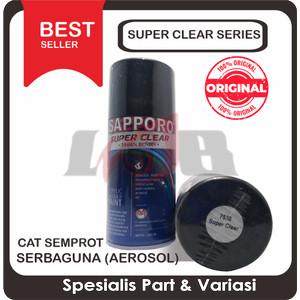 Sapporo Super Clear Atau Gloss Doff Cat Semprot Pylox Saporo Paint