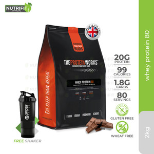 The Protein Works Whey Protein 80 Concentrate 2kg