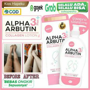 Alpha Arbutin 3 Plus Collagen Whitening Lotion ,Hand Body Lotion 500ml