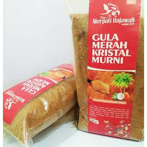 Bubuk Gula Aren Organik 1kg - Brown Sugar Kristal - Bandar Powder