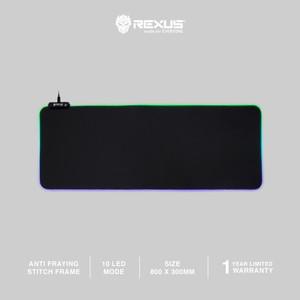 [Exclusive Tokopedia] Rexus Mousepad Gaming RGB Kvlar TR3 Speed XL