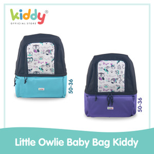 Kiddy Little Owlie Multifunction Bag / diaper dan cooler bag -5036