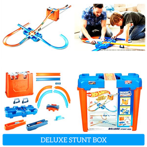Hotwheels / Hot Wheels Track Set Builder DELUXE STUNT BOX GGP93
