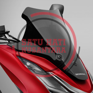 (PCX 160) Honda ORI High Windscreen Windshield Visor Kaca Depan Tinggi