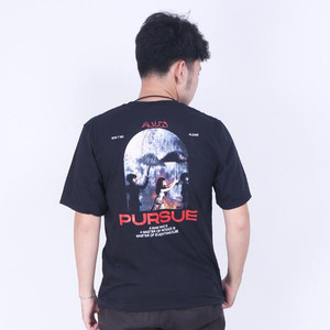 Mules T-shirt Pursue Black