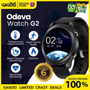 Smartwatch thermometer alert suhu tubuh [ORIGINAL] - Odeva Watch G2