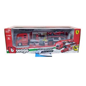 BBurago Ferrari Racing Hauler Skala 1:43