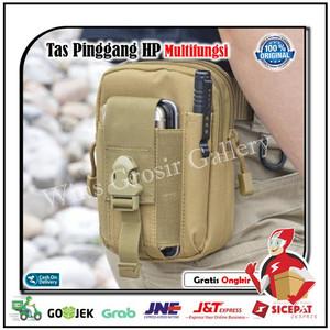 Tas Pinggang Pria Tactical Dompet Pinggang Kanvas Pounch Hp Waist Bag