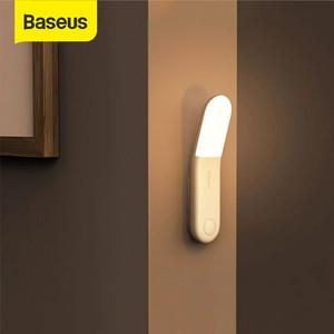 BASEUS LAMPU DINDING SENSOR OTOMATIS / MALAM / TIDUR LED KAMAR RUMAH