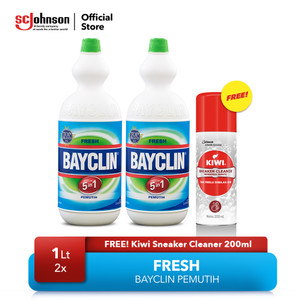 Bayclin Fresh 1ltx2 Free KIWI Sneaker Cleaner 200ml