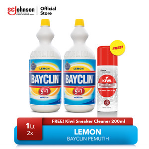 Bayclin Lemon 1ltx2 Free KIWI Sneaker Cleaner 200ml