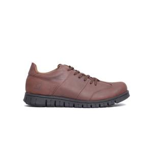 Sepatu Kerja Kulit Otiv Neo Bianca Dark Brown