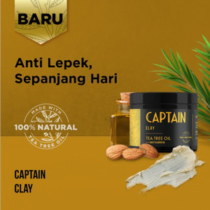 Captain Clay with 100% Natural Tea Tree Oil