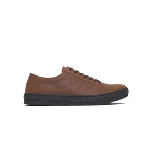 Sepatu Sneakers Kulit Otiv Matmata Brown