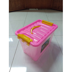 Box Container dgn Pegangan (Bening) /Box Container 8L 15L 25L 40 Liter
