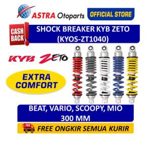 Shock Breaker Belakang KYB ZETO Vario, Beat, Scoopy, Yamaha Mio, dll