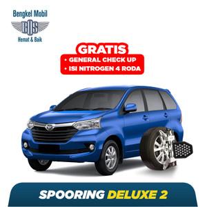 Spooring Deluxe 2 Free Checkup 58 Komponen Kendaraan