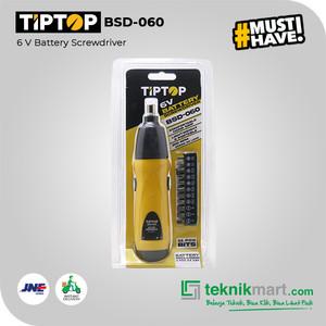 Tip Top BSD-060 6V Cordless Screwdriver / Obeng Baterai