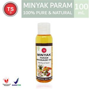 Massage Oil / Minyak Param TSBali - 100% Pure & Nature 100ml