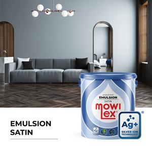Mowilex Emulsion Satin Cat Tembok Interior Anti Bakteri - 2.5 L