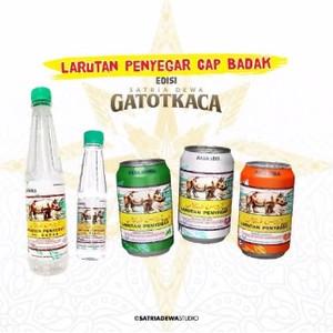 Minuman Penyegar   Larutan Penyegar Cap Badak edisi Gatotkaca