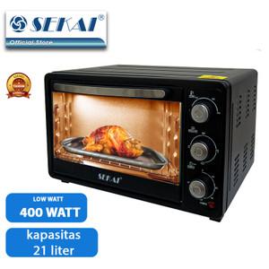 SEKAI Oven Listrik Low Watt (21 L) OV 211