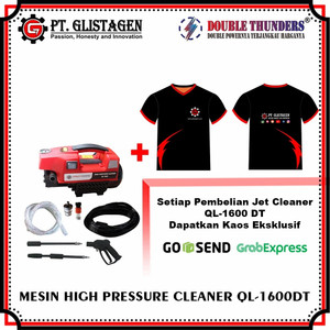 Mesin Steam Cuci Motor & Mobil Jet Cleaner High Pressure Washer QL1600