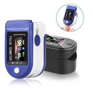 Oksimeter Digital Finger Oximeter Pengukur Oksigen Darah Detak Jantung