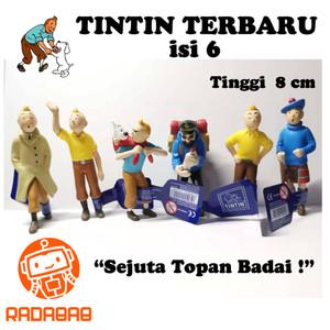 Figure Tintin Terbaru isi 6