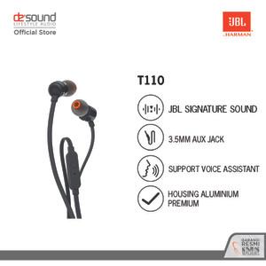 JBL T110 Earphone - Black
