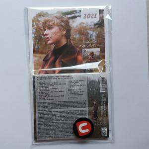 CD Taylor Swift Evermore Bonus Calendar 2021 Import Taiwan With Obi