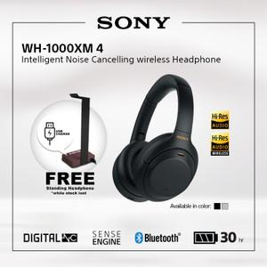 SONY WH-1000XM4 Black Wireless NC Headphone / 1000XM4 / 1000X