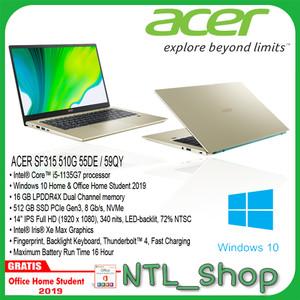 ACER SWIFT 3X i5 1135G7 16GB 512 SSD 14 FHD IPS IRIS XeMAX